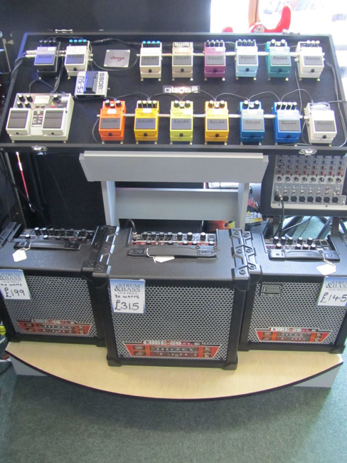 Product Image Amplification and Guitar Effects